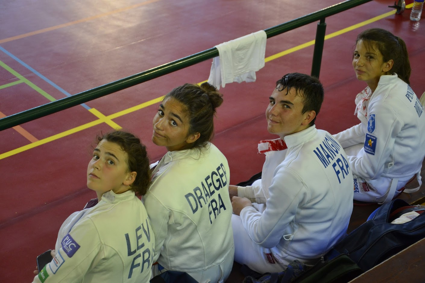 Fencing training camp in Naucelle - 2016
